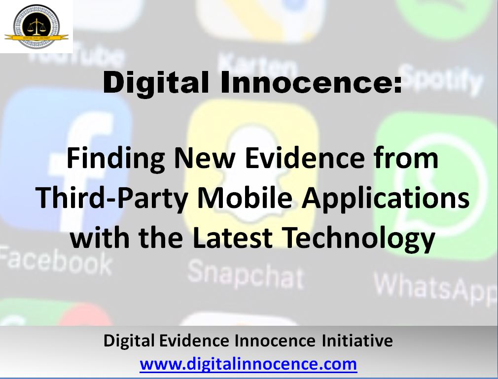 Digital Innocence: Data Recovery from Third-Party Mobile
