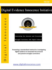 Digital Evidence Innocence Initiate White Paper